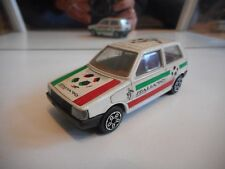 "Bburago Burago Fiat Uno ""Italia '90"" in White on 1:43"