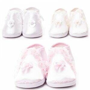 Taufschuhe Babyschuh Festlicher Schuh Taufe Hochzeit Mädchen Baby BS204