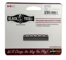 Graphtech Black Tusq XL Nut Slotted - 6 STRING For Acoustic Guitars