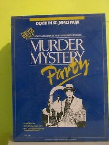 Murder Mystery Party Game - Death in St. James Park - New Factory Sealed