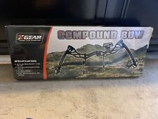 New listing X Gear Compound Bow BLACK NEW IN BOX