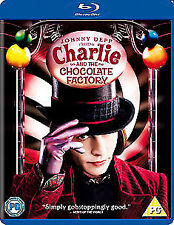Charlie And The Chocolate Factory Blu-Ray NEW BLU-RAY (1000097482)
