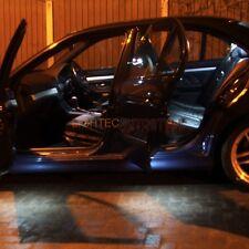 Bmw Serie 5 E39 Alta Potencia Xenon Blanco LED lámpara interior Kit Guirnaldas Ba9s
