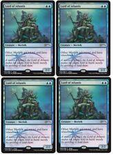 Magic, The Gathering MTG 4x Lord Of Atlantis PLAYSET 2018 Judge FOIL Promo Cards