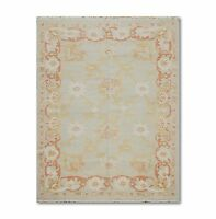 6' x 9' Hand Knotted  Turkish Antiqued Oriental Oushak 100% Wool Area Rug