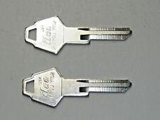 Ignition Amp Door Key Blanks For 68 85 Mopar Qty 2 1697 Fits 1972 Charger