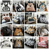 Luxury Animal Print Design Duvet Set Quilt Cover Bedding Single Double King Size