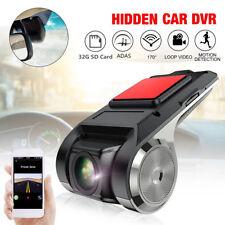 Hidden USB Car DVR Driving Video Recorder Camera HD 1080P 170° ADAS Dash Cam2019