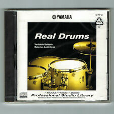Yamaha / REAL DRUMS / Professional Studio Library / A5000/A4000/A3000 / NEU+OVP