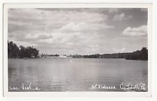 Lac Vert ST. ALPHONSE co. Joliette Quebec Canada 1950 Michel Photo RPPC 15