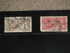 Great Britain Scott# 179-80, 180 has short perf on lower left corner, both used