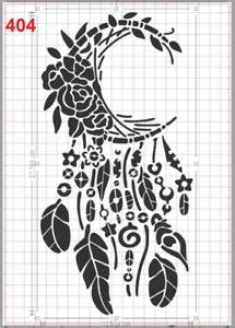 Large Dream Catcher no8 Stencil MYLAR A4 sheet strong reusable ART craft DECO