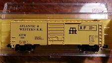 Atlas 3415 ATW ATLANTIC & WESTERN 40' Boxcar #2050  FOOD LOADING ONLY