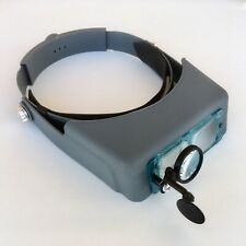 Headband Magnifier with 4 Lenses & Loupe Watch Repair Soldering, Jewelry Repair