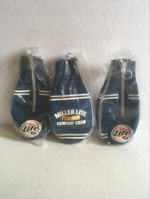3 Miller Lite Beer Bottle Suit Coolers Koozie Coolie Huggie New