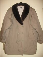 TODAY- collection-Mantel-Jacke- Mit Pelz Kragen, Gr.52-54, Wie Neu