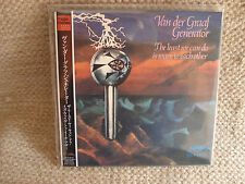 VAN DER GRAAF GENERATOR THE LEAST WE CAN DO MINI LP CD JAPANESE JAPAN JPN  MINT