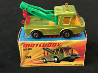 Matchbox Superfast No 74 Toe Joe in Green Nr Mint In Box 1972 Diecast Model Toy