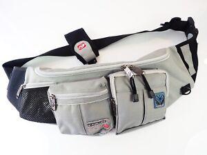 Quiksilver Cross Body Bag Surf Grey Bum Bag Belt Bag Waist Pack