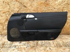 PORSCHE BOXSTER S (05-08) 987 997 PASSENGER RIGHT DOOR PANEL CARD COVER BLACK