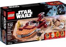 SAME DAY SHIPPING‼️Lego Star Wars 149pc LUKE'S LANDSPEEDER Building Toy! I#75173