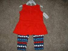 Carter's Baby Girls 4th of July Set Outfit Patriotic Size 9 Months 9M NWT NEW