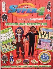 Super 4/Super 4 Adhesivo y actividad Libro de la diversión