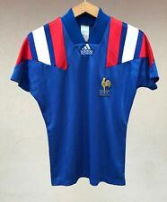 FRANCE NATIONAL TEAM 1992/1994 HOME FOOTBALL SOCCER SHIRT JERSEY CAMISETA ADIDAS