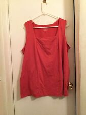 Lane Bryant, ladies top, size 18/20, Shrimp colored VGUC
