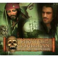 FLUCH DER KARIBIK - PIRATES OF THE CARIBBEAN I-III  3 CD NEW