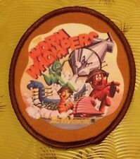 ~ Intellivision Video Game Vintage 80's Activision Award Patch Worm Whompers ~