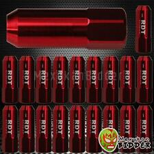 M12X1.5MM 20X OPEN END RED 60MM ALUMINUM  EXTENDED TUNER LUG NUTS HONDA ACCORD