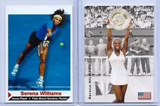 """2"" SERENA WILLIAMS 2003 NET PRO-SPORTS ILLUSTRATED ROOKIE CARD LOT! WIMBLEDON!"