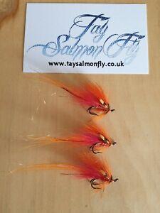 3x Calvin Shrimp Size 12 Double Hook Salmon Fishing Flies