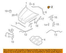 BMW OEM 07-13 X5-Hood Stopper 51237265310