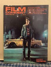 "1976 March/April Film Comment Magazine Robert Deniro ""Taxi Driver� (A51)"