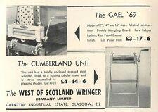 1953 West Of Scotland Wringer Company Ltd Carntyne Glasgow Ad