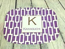 "Melamine Melmac Kitchenware Serving Tray Platter - 14"" x 10"" / Kawaguchi"