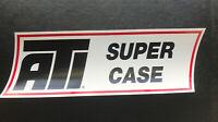 ATI SUPER CASE DECAL BUMPER STICKER DRAG RACING NASCAR NHRA -Street OuTlaws-LG