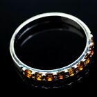 Citrine 925 Sterling Silver Ring Size 11 Ana Co Jewelry R20471
