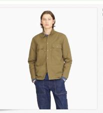 NWT JCrew Wallace Barnes Herringbone Shirt Overshirt Jacket K6112 Carhartt XL