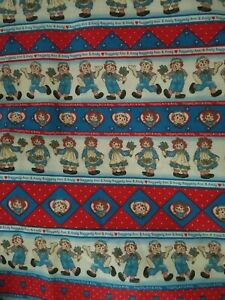 Raggedy Ann and Andy fabric #5