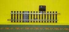 Voie JOUEF HO - Rail Droit - Ref 4850 - Interrupteur av prise - 123.5 mm - Neuf