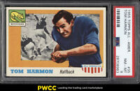 1955 Topps All-American Tom Harmon SP ROOKIE RC #35 PSA 8 NM-MT (PWCC)
