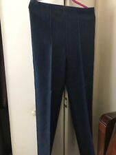 Vintage Montgomery Ward Us Navy Denim High Waist Elastic Pants Fits 32x32