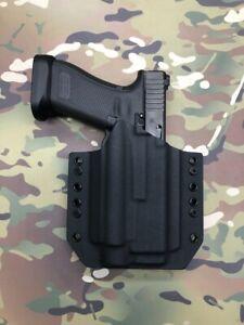 Black Kydex Holster for Glock 17 22 Olight Baldr Pro