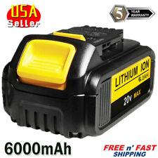 For Dewalt DCB200 DCB206 18/20V Battery XR 6.0AH Premium MAX Lithium Ion Battery