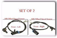 2 x  ABS Wheel Speed Sensor Front Left & Right Fits: Chevrolet GMC K2500 K3500