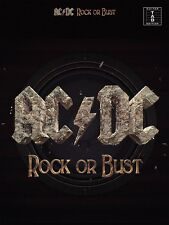 AC/DC ROCK OR BUST GUITAR TAB TABLATURE SHEET MUSIC SONG BOOK