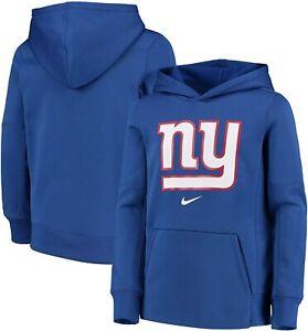 New York Giants Nike Youth Boys Primary Logo Performance Hoody Sweatshirt